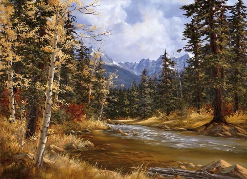 Lake Creek Autumn